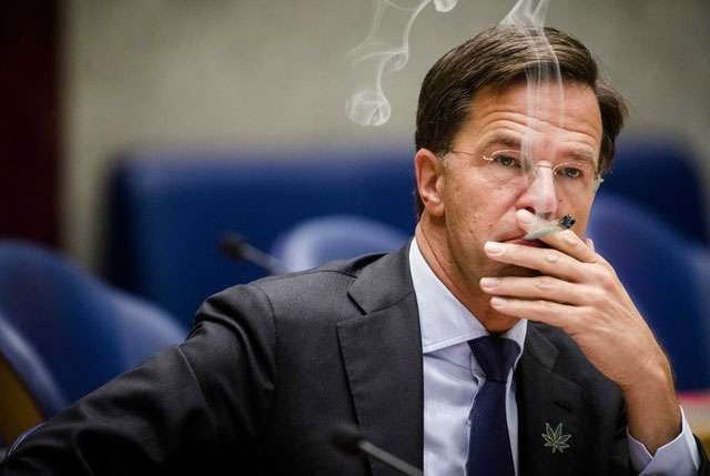 -	What if Dutch politician Mark Rutte enjoyed cannabis?