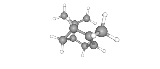 Alpha Pinene 3D structure