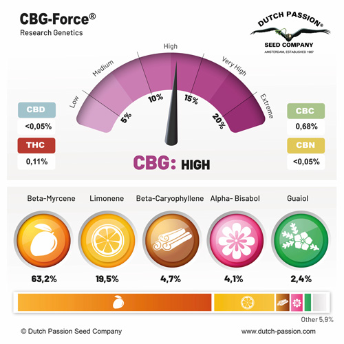 CBG-Force terpenes
