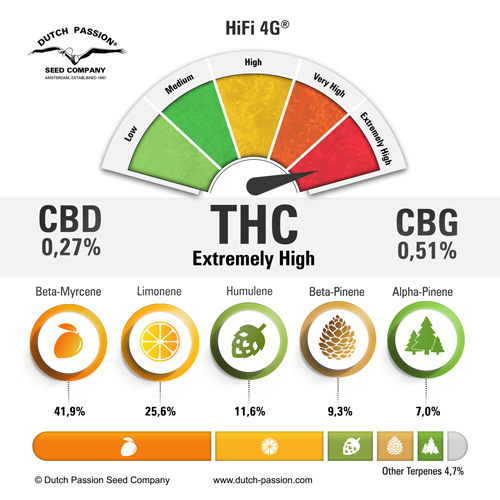 HiFi 4G Cannabinoids and Terpenes