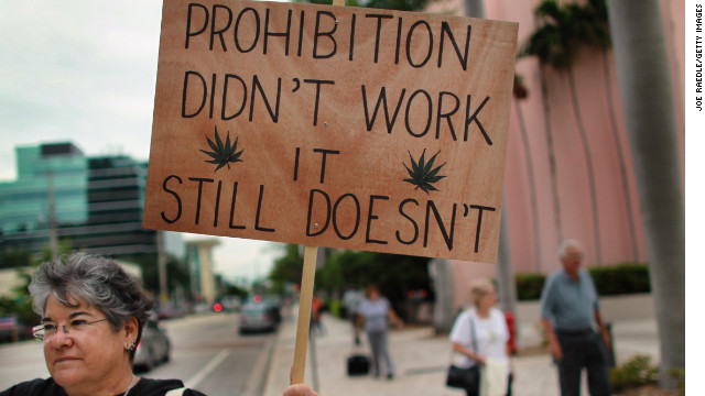 USA.  CNN claim the war on drugs is a 'trillion dollar failure'