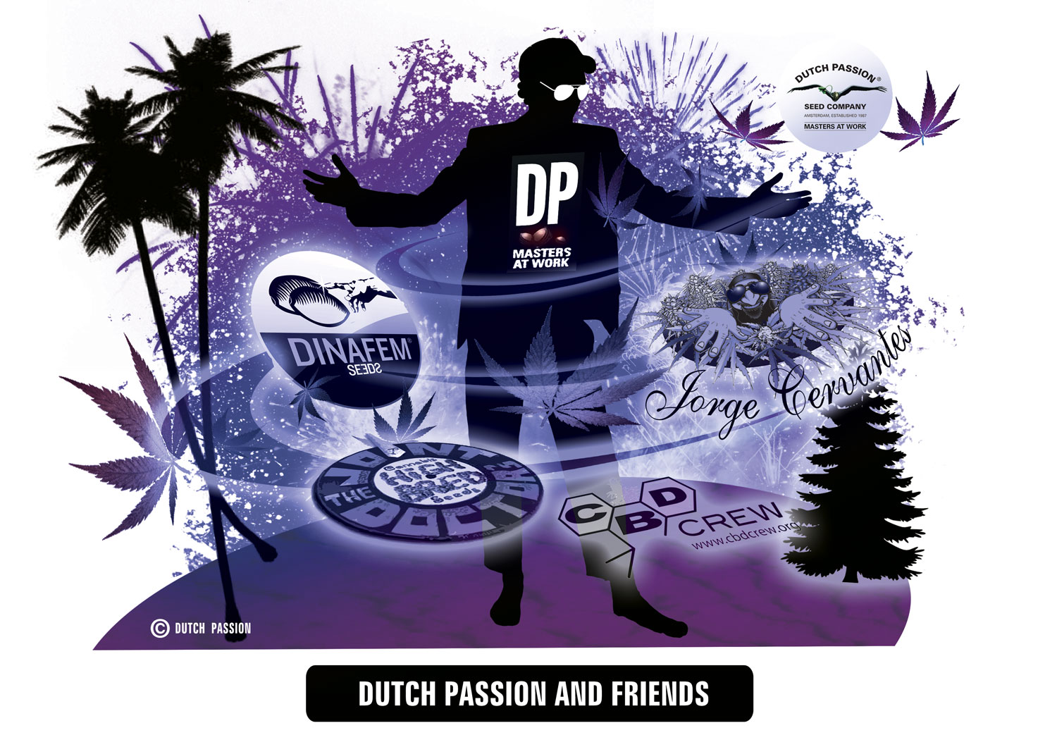 Dutch Passion - Collaborations on breeding projects
