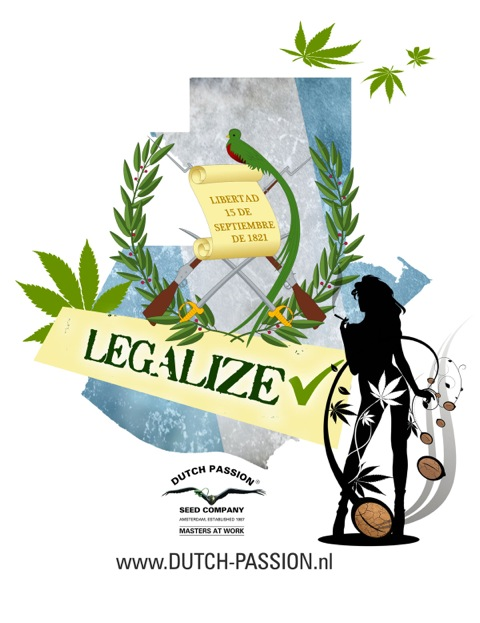Guatemala.  The second country to legalise cannabis?