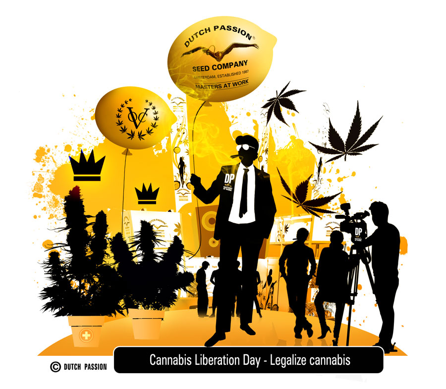 Cannabis Liberation Day 2014.  The best so far