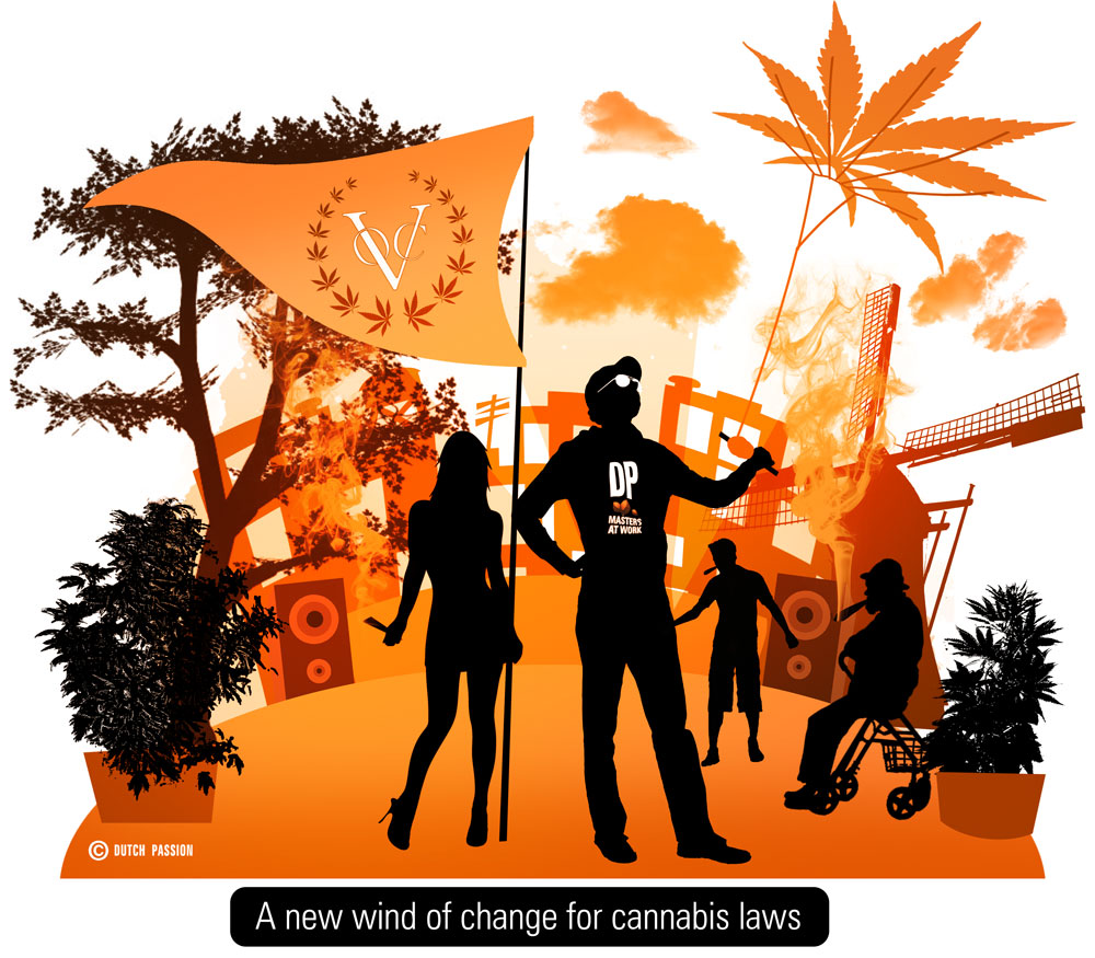 Cannabis Liberation Day Festival, June 16th Amsterdam - Free admission