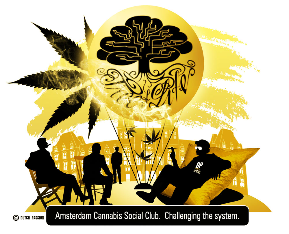 Amsterdams First Cannabis Social Club