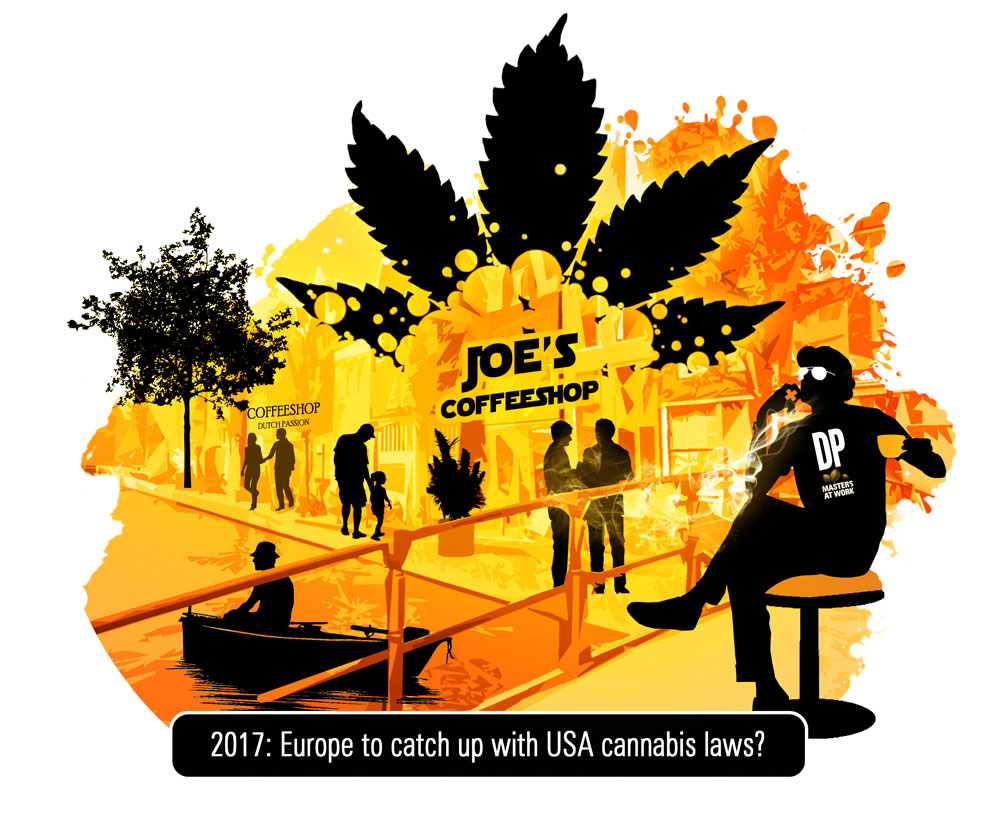Legal commercial cannabis growing for Europe in 2017?