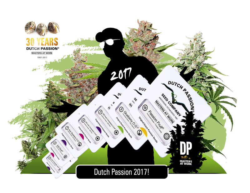 New Dutch Passion Cannabis Seeds For 2017