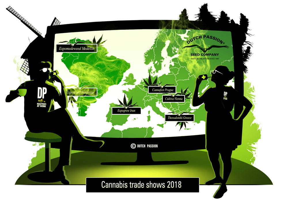 Thinking of visiting a cannabis trade show in 2018?