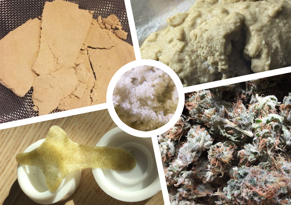 How to make hash from ice and water