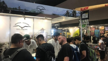 Dutch Passion enjoy visiting Expo Cannabis in Uruguay