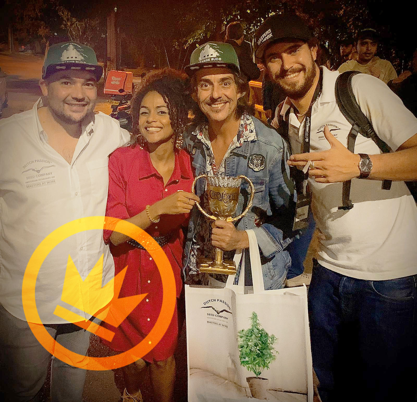 Dutch Passion Cannabis Cup 1st Prize at the Copa Medellin with Desfrán!